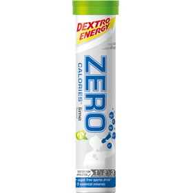 Dextro Energy Zero Calories Electrolyte Tabs 20 Pieces, Lime